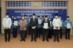 Sekda Aceh Kukuhkan Pejabat Struktural Inspektorat Aceh