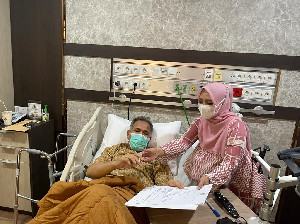 Bantah Tudingan Warganet Aceh, Gubernur Nova Iriansyah Benar Sakit