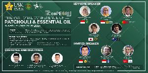 Pakar dari 5 Negara Bahas Nilam dan Atsiri Dalam Konferensi Internasional