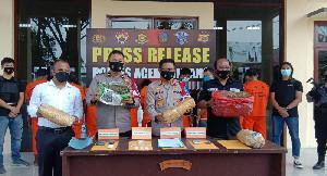 Transaksi Narkoba, Empat Warga Lhokseumawe Diciduk Polisi di Aceh Tamiang