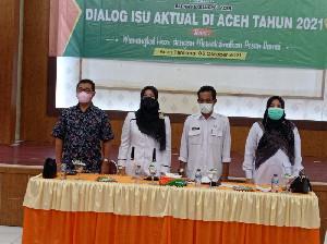 Kesbangpol Aceh dan Pemda Atam Laksanakan Dialog Isu Aktual di Aceh
