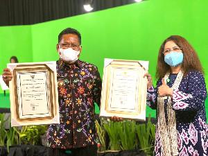 Wali Kota Banda Aceh Kembali Terima 2 Penghargaan Sekaligus dari Menkes RI