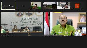 Kawal STQHN XXVI Maluku Utara, Ditjen Bina Adwil Gelar Rakor Virtual