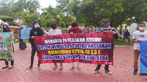 Gubernur Kembali di Demo, KPK Dituntut Segera Tetapkan Tersangka Pejabat Korupsi Aceh