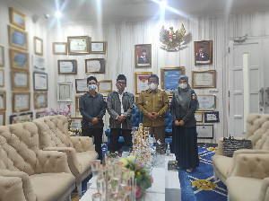 Wali Kota Aminullah Sambut Baik Rencana Kerjasama dengan Panwaslih
