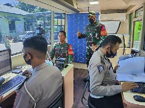 Babinsa Dapat SIM Gratis dari Dirlantas Polda Aceh