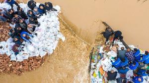 Banjir di Provinsi Shanxi, Hampir 2 Juta Orang Harus Mengungsi