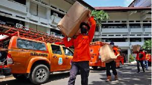 BNPB Dukung dan Perkuat Prokes di Manado