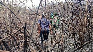 TNI-Polri Memburu Pelaku Karhutla di Aceh Tengah