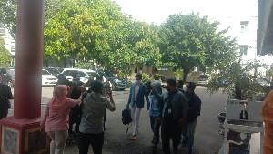 Pimpinan dan Anggota DPRA Penuhi Panggilan KPK di BPKP Aceh