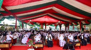 Sekda Aceh Ikuti Zikir dan Doa Bersama Ribuan Santri