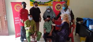 BIN Bireuen Gelar Vaksinasi Untuk Santri di Dayah