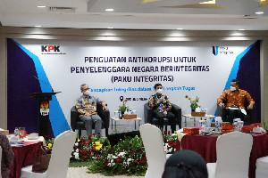 KPK Beri Penguatan Intregritas Pada Jajaran Kemenkes