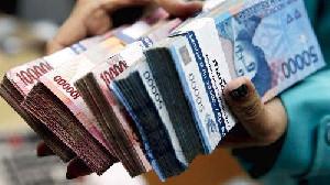 Rupiah Amblas ke Rp14.170 per Dolar AS
