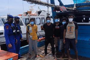 Penggunaan Trawler Masih Terjadi, Polisi Tangkap Kapal Trawler di Aceh Utara