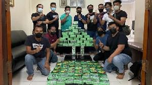 Polda Riau Tangkap 2 Pengedar Narkoba Jaringan Aceh, Amankan 81 Kg Sabu