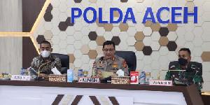 Gelar Rakor di Polda Aceh, Satgas Covid-19 Bahas Upaya Percepatan Vaksinasi