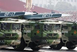 Rudal China DF-17 Melangkah Jauh Tinggalkan  AS dalam Teknologi Rudal