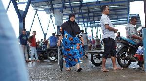 Pedagang Al-Mahirah Tagih Janji DKP Aceh Tertibkan Pedagang Eceran di PPS Lampulo