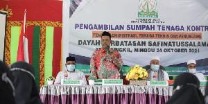 Pemerintah Aceh Tambah 10 Tenaga Kontrak di Dayah Perbatasan Safinatussalamah