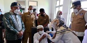 31 Ribu Lansia Sudah Divaksinasi Covid-19 Dosis I di Aceh