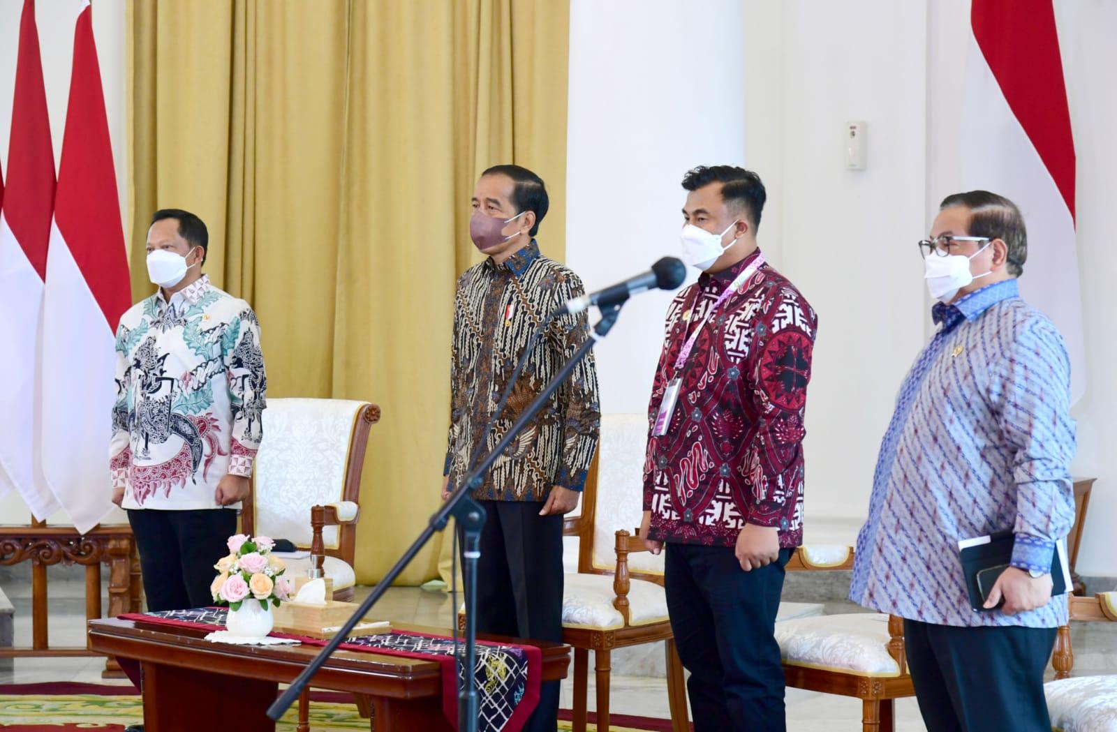 Resmikan Apkasi Otonomi Expo 2021, Jokowi: Perkuat Perdagangan Antar Daerah dan Pulau!