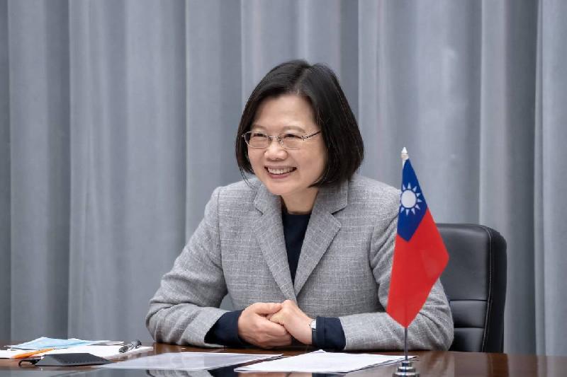 Presiden Tsai: Taiwan Ingin Hidup Damai, Tanpa Konfrontasi Militer