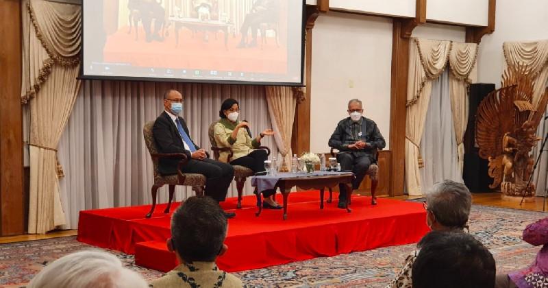 Bertemu Diaspora Indonesia di AS, Menkeu Prihatin Macetnya Dana Beasiswa Mahasiswa Papua